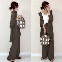 Комплект из 2 предметов топ с длинными рукавами и штаны Женский