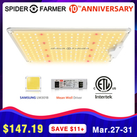 SF 1000W Full Spectrum Led Grow Light Lamp For VEG Plants Flowers Spider Farmer Samsung LM301B Meanwell driver Growing lights