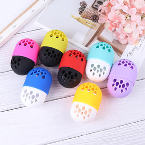 Makeup Sponge Display-Rack Cosmetic-Blender Puff-Drying-Holder Beauty-Pad Soft-Silicone