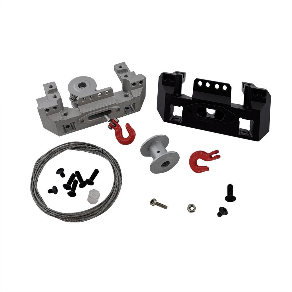 1:10 Scale Model RC Car 25T Steering Gear Winch Wheel Buggies Accessories