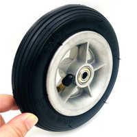 Motorcycle 6x1 1/4 tyre 150MM Scooter Inflation Wheel Aluminium Hub Inner Tube Electric Scooter 4 Inch Rims 6inch Pneumatic Tire