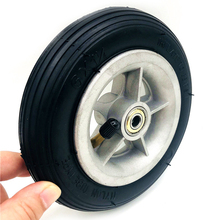 Motorcycle 6x1 1/4 tyre 150MM Scooter Inflation Wheel Aluminium Hub Inner Tube Electric 4 Inch Rims 6inch Pneumatic Tire