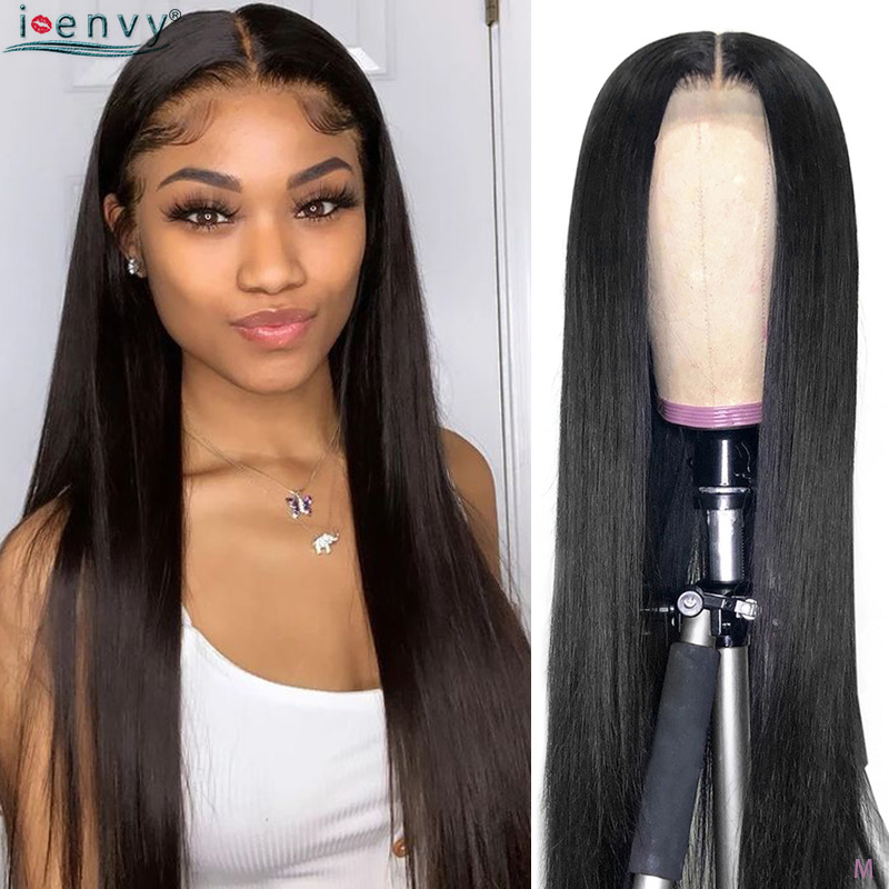 Lace Front Human Hair Wigs 13X4/13x6 Straight Human Hair Wigs 180% Remy Pre Plucked Brazilian Perruque Cheveux Humain 8-26 Inch