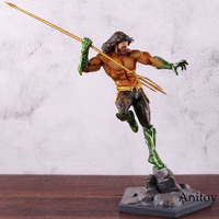 DC Justice League Aquaman Arthur Curry Figure DC Comics Iron Studios Aquaman Action Figure PVC Collectible Model Toy