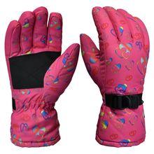 Зимние теплые женские лыжные перчатки boodun ветрозащитные водонепроницаемые