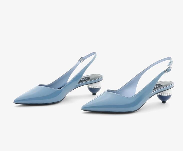 toe anormal sandálias de salto alto elegante