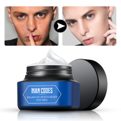 MANCODES 50g Men Moisturizing Face Cream Oil Control Night Cream Firming Hyaluronic Acid Whiten facial Serum Men Skin Care
