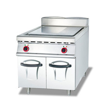Electro-thermal Vertical Half Plane Grain Connecting Cabinet Steak Frying Stove Meat Products Western Kitchen Equipment