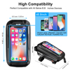 WILD MAN New Bike Bag Frame Front Top Tube Cycling Bag Waterproof 6.6in Phone Case Touchscreen Bag MTB Pack Bicycle Accessories 4