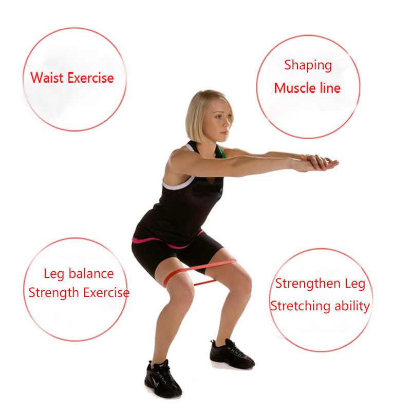 5 poziom joga Crossfit odporność na zespoły gumowe szkolenia ciągnąć liny do sportowe Pilates Expander Fitness gumy siłownia sprzęt treningowy