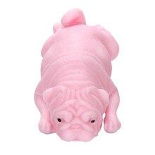 Мягкие игрушки мочи Мопс щенок сжимает целебное удовольствие каваи снятие стресса игрушки подарки Непоседа антистресс аутизм стресс zabawki