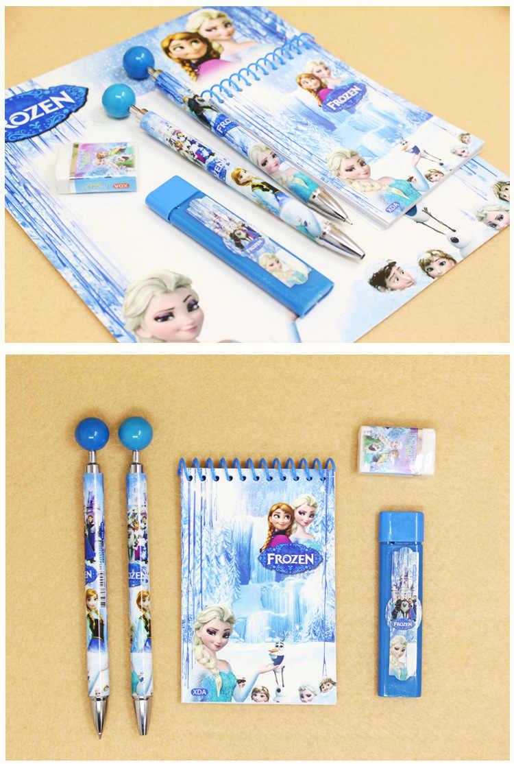 Disney mutlu doğum günü çocuklar parti hediye 1 dizüstü + + tükenmez kalem + kalem + 1 silgi parti hediye dekorasyon