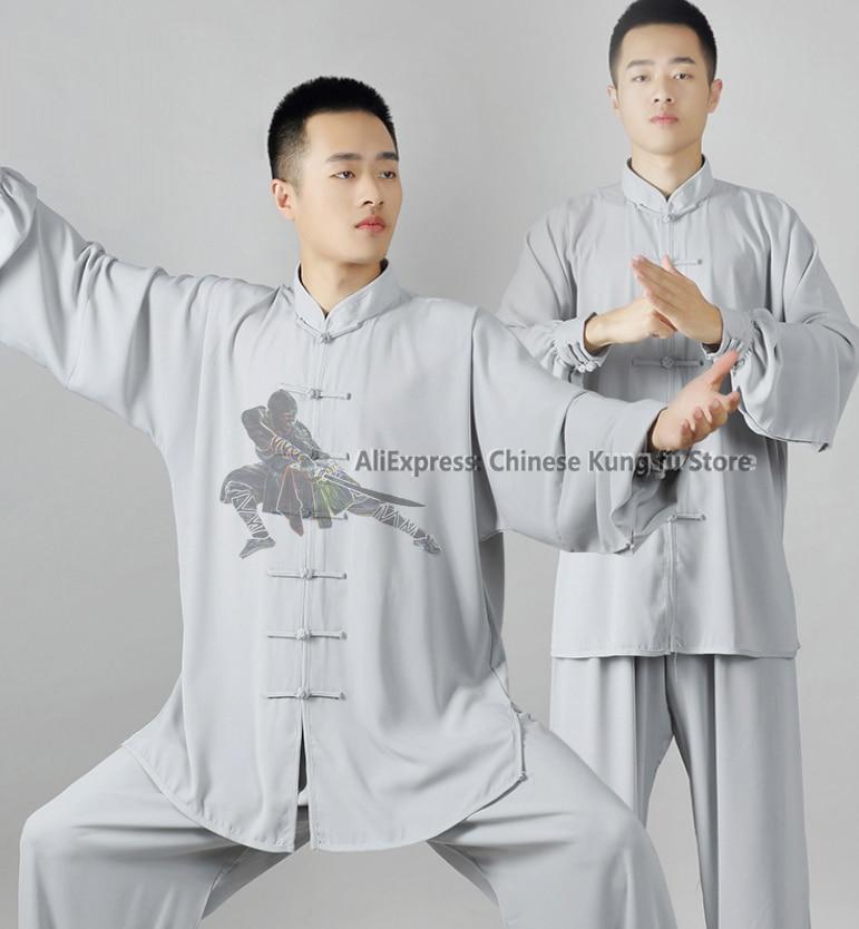 Popular Synthetic Tai Chi Uniform Wushu Kung Fu Suit Martial Arts Wing Chun Sets