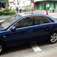 Voor Mazda 6 2013 2014 Roestvrij Staal Venster Moulding Vensterbank Versieringen Glas Strips Chroom Styling Stickers Accessoires 10 Pcs-in Chromium Styling van Auto´s & Motoren op