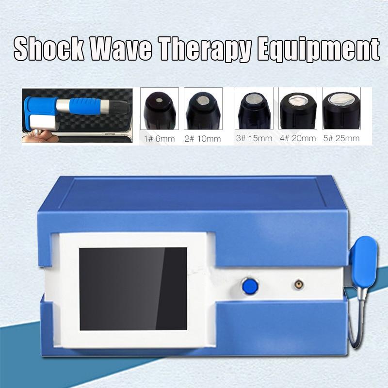 Máquina de tratamiento de terapia de alivio del dolor de onda de choque/máquina de terapia de onda de choque/para disfunción eréctil