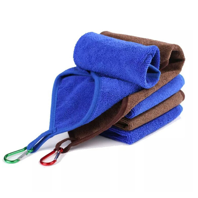 New Fishing Towel Fishing Clothing Thickening Non-stick Absorbent Outdoor Sports Wipe Hands Towel Hiking Climbing Fishing Gear