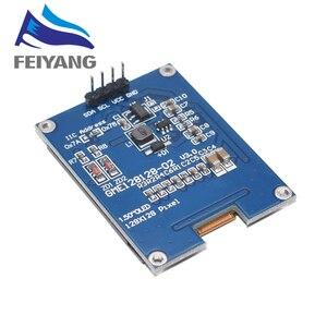 ALLE NEUE 1,5 Zoll 128x128 OLED Weiß/Gelb Schild Bildschirm Modul Hohe qualität Produkt Für Raspberry Pi für STM32 Für Arduino