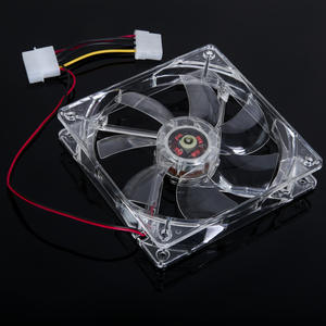 Cooling-Fan 120mm Case Computer CPU Computer-Cooling-System-Accessory 12cm Clear 4 PC
