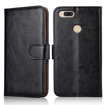Funda de cuero tipo billetera Para Xiaomi mi A1 A 1 funda de cuero Para On Xiaomi A1 mi A1 mi A 1 Coque Kickstand Capa