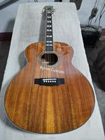 free shipping professional solid jumbo acoustic guitar F50 vintage guitar koa wood guild acoustic electric guitars