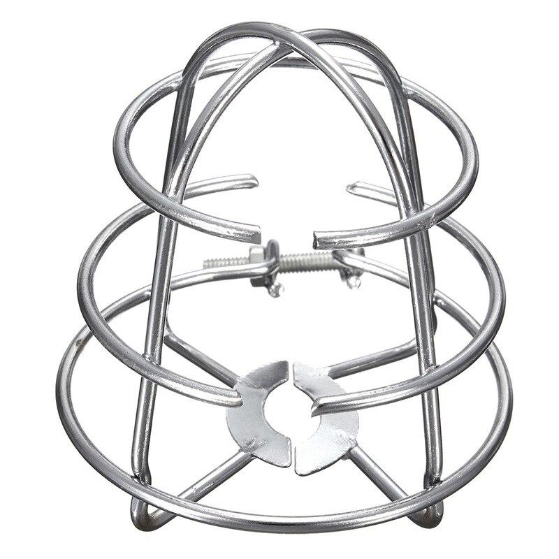 Fire Sprinkler Headguard,Fire Sprinkler Head Protection Frame Recessed Heavy Duty Chrome Plated Sprinkler Headcage