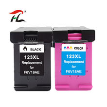 Compatível para HP123 123XL Cartucho de Tinta para Impressora HP DeskJet 123 1110 1111 1112 2130 2132 2134 Officejet 3830 3831 3832 3834