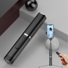 цена 3 in 1 Bluetooth Selfie Stick Tripod Phone Table Holder Foldable Remote Control Metal Selfie Stick for Samsung/Redmi/iPhone онлайн в 2017 году