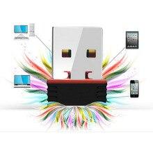 חדש מיני 802.11n/g/b Wifi 2.4 GHz ~ 2.4835GHz אלחוטי רשת מתאם 150Mbps USB Dongle עבור מחשב נייד מחשב Windows 7/10/xp/ Vista