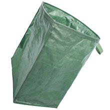 1Pc Large Capacity Leaves Storage Bag with Handle Durable Garden Waste Bag