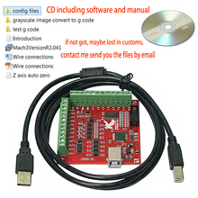 MACH3 4 แกน 100KHz USB CNC Routerไม้เครื่องSmooth Stepper Motion Controller Card Breakout Board 12 24V