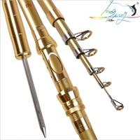 carbon Telescopic Super hard Fishing Rod 1.8M  3.6M Portable Spinning Cast rod Sea fishing rod carp Fishing gear|Fishing Rods|Sports & Entertainment -
