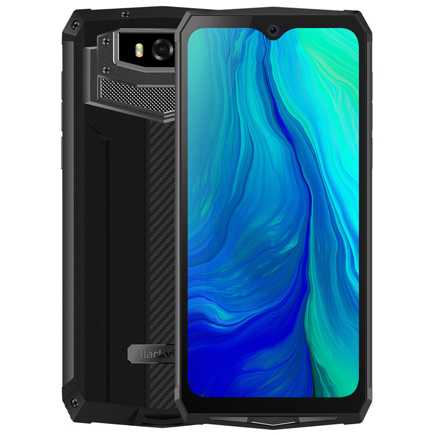 """Blackview BV9100 6.3"""" 13000mAH NFC IP68 rugged shockproof smartphone android 9.0 4GB+64GB Octa Core Fast Charge 4G mobile phone"""