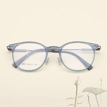 Прозрачные круглые очки для женщин и мужчин Ultem прозрачные оптические очки в оправе при близорукости оправы по рецепту очки Oculos