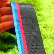 Ремень безопасности Автомобильный, ремень безопасности синего и красного цвета для BMW e46, e90, e39