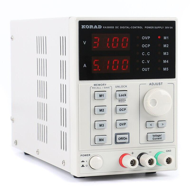 KORAD KA3005D réglable numérique Programmable DC alimentation laboratoire multimètre sonde pour la recherche en laboratoire régulée
