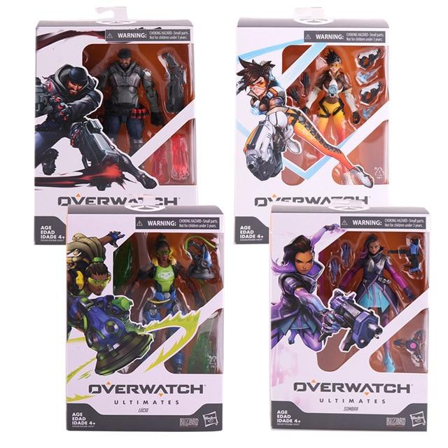 Hasbro Overwatch Ultimates Series Sombra Tracer Lucio Blackwatch Reyes (Reaper) Skin 6 1