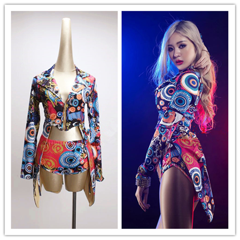 DJ Led Suits Rave Clothes Pole Dance Clothing Jazz Dance Costumes Nightclub Bar Ds Costume Sexy Female Singer DJ Led Suits New