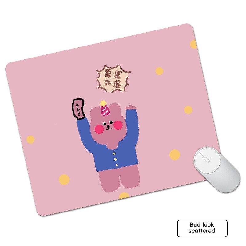 Купить креативный милый кожаный коврик для мыши водонепроницаемый утолщенный