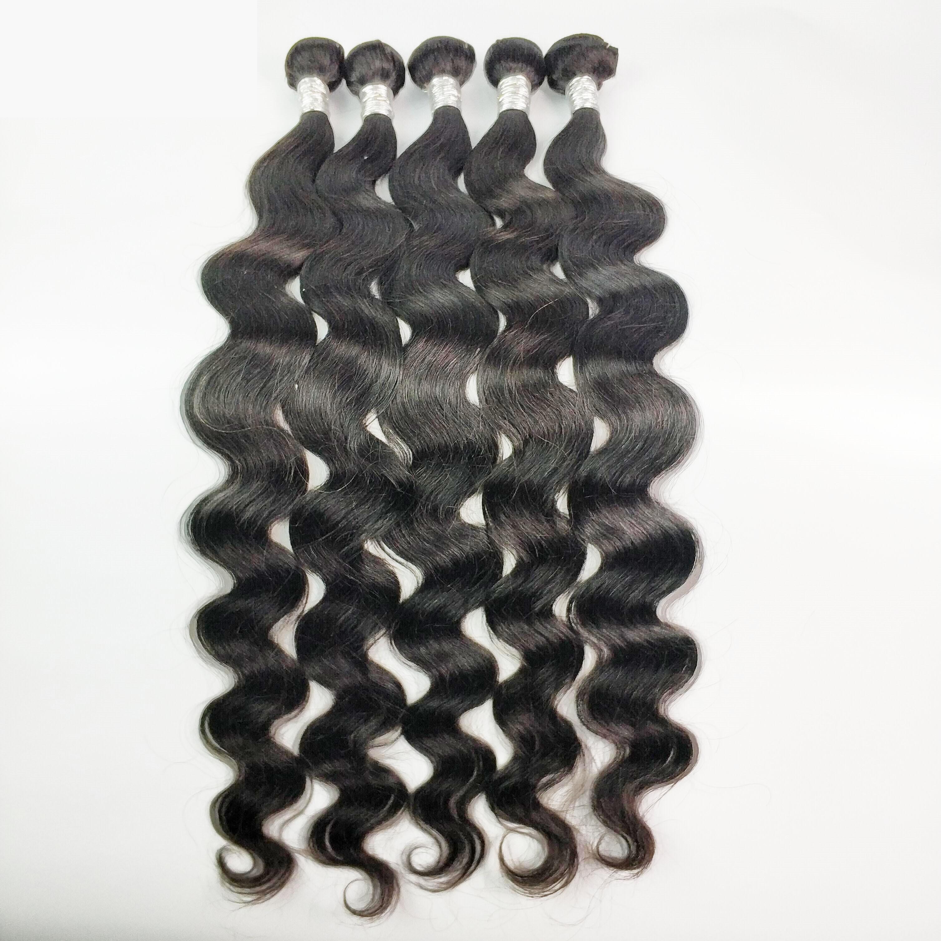 FDX Body Wave Bundles 30 32 34 36 38 40 Inch Bundles 100% Human Hair Bundles Top Quality Brazilian Hair Weave Bundles Remy Hair 2
