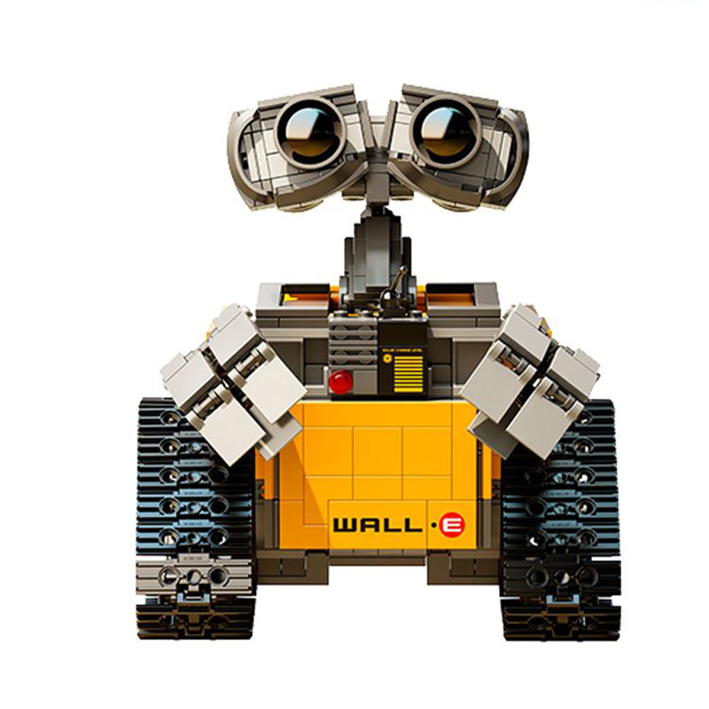 Building Blocks Model 16003 IDEA WALL E Figure Educational Toy for Children Gift for Boy Girl Compatible with <font><b>Legoinglys</b></font> image