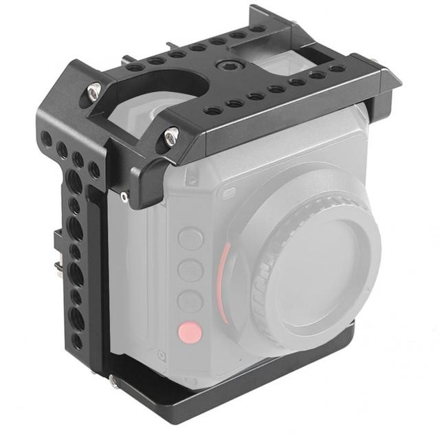 Acessório handheld da gaiola da fotografia exterior da câmera da liga de alumínio para a câmera de z cam e2