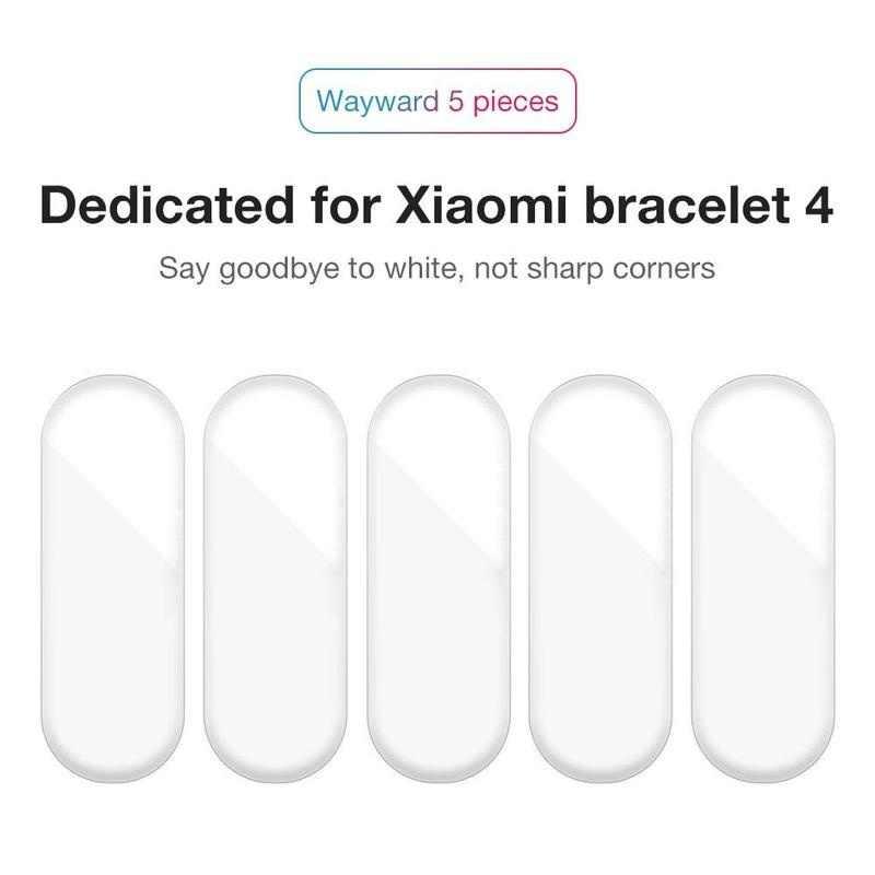 Película protectora para Xiaomi Mi Band 4, 12 Uds. De hidrogel Protector de pantalla completa para Xiaomi Mi Band 4, 3 y 2