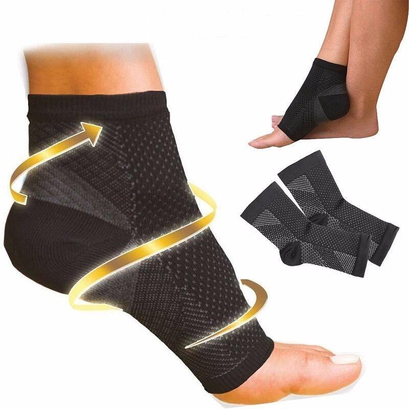 Foot Compression Socks For Men Women Plantar Fasciitis Heel Spurs Pain Casual Cotton Sock Venous Sock