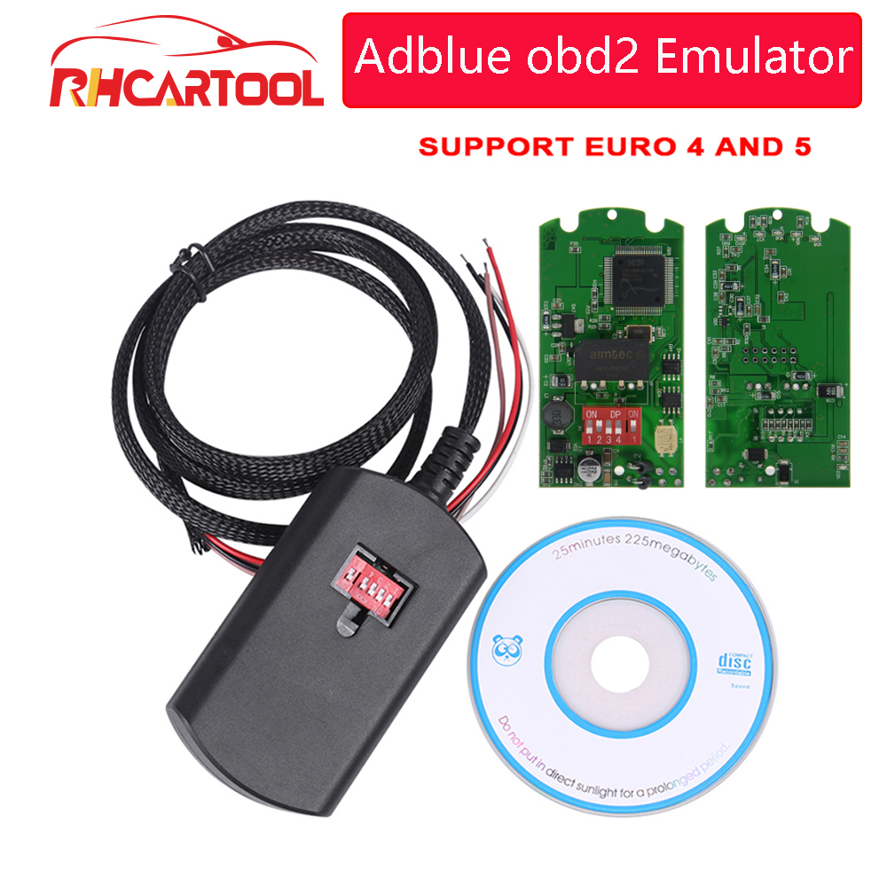 OBD2 New Car Styling Adblue 9in1 Super Adblue Emulator 9 in 1 Add for Commins Truck better than adblue 8in1 with free shipping