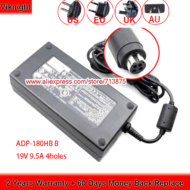 Genuine ADP-180HB B PA3546E-1AC3 19V 9.5A Ac Adapter For Toshiba X770-02P X200-251 QOSMIO X75 X770 X505 PA-1181-02 PA3546U-1AC3