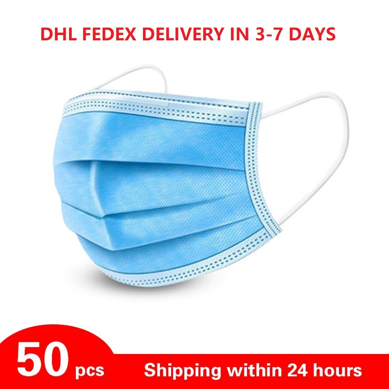 Disposable Mouth Mask Men Women Cotton Anti Dust Mask Windproof Mouth-muffle Bacteria Proof Flu Face Masks For Adult Children