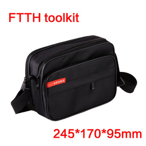 FTTH fiber optic tool kit fiber optic communication construction package cloth package fiber optic connector tool bag backpack
