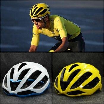 Capacete de ciclismo eps integralmente-moldado respirável bicicleta capacete aero cascos capacete ciclismo vermelho mtb estrada capacete adulto 1