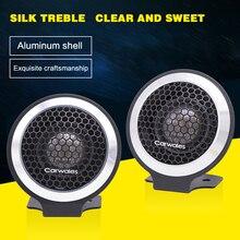 2019 New Top Quality Car Audio Silk Film Dome Super Tweeter 120W High Power HIFI Stereo Speaker Aluminum Shell Loudspeaker