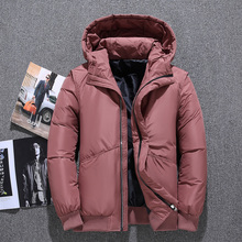купить High Quality White Duck Down Jacket Men Coat Winter Snow Parkas Male Plus Size Warm Brand Clothing Winter Down Jacket Outerwear дешево